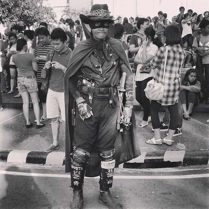 Legendary Zorro is antihispanic Zorro Updiliman Lantern Parade christmas instapic instagram instagraphy instaplace instashot themanansala photography manila milan newyork paris london ireland brazil wales