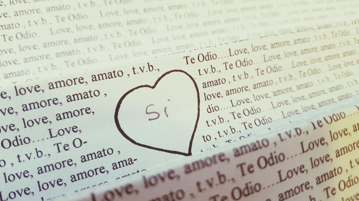 Amore Cuore❤ Cuore Ti Amo❤ Innamorato amore che sbiadisce
