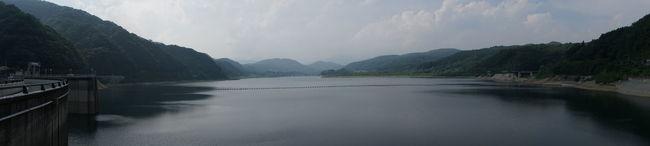 ダム にはまだまだ水があったから安心(*^^*) タグが思いつかん Japan 大倉ダム