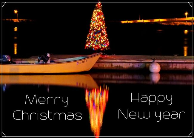Merry Christmas 🎅🏼 MerryChristmas Christmas Tree Tree Water Reflections Colorful Water Reflection Winter Photography Exploring Sony A6000 HDR Long Exposure Holiday Peace Joy Love Family Friends Home Longisland New York Eastcoast December EyeEm Best Shots EyeEm Masterclass