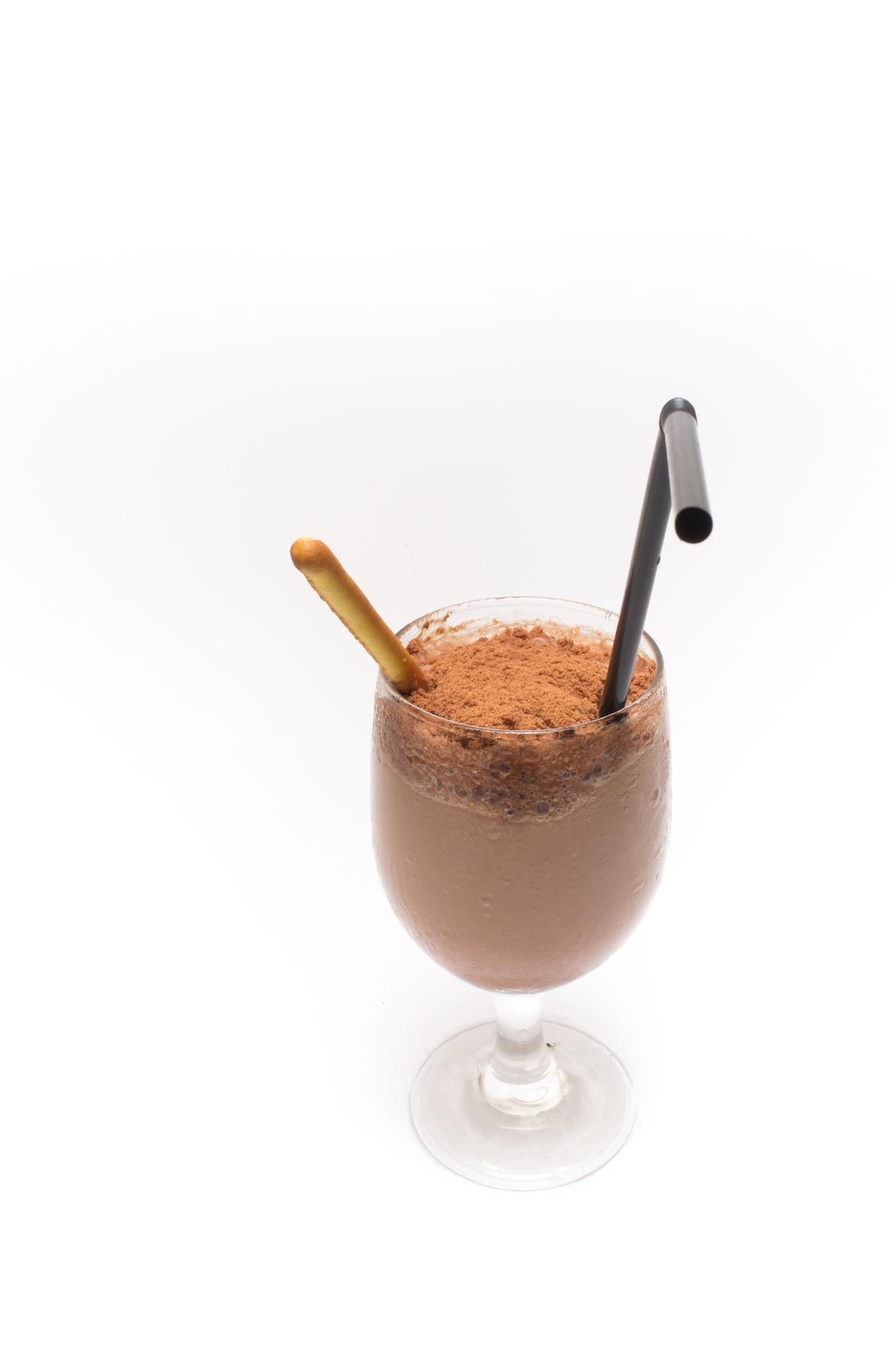 Beautiful stock photos of chocolate, Chocolate, Chocolate Powder, Drink, Drinking Straw