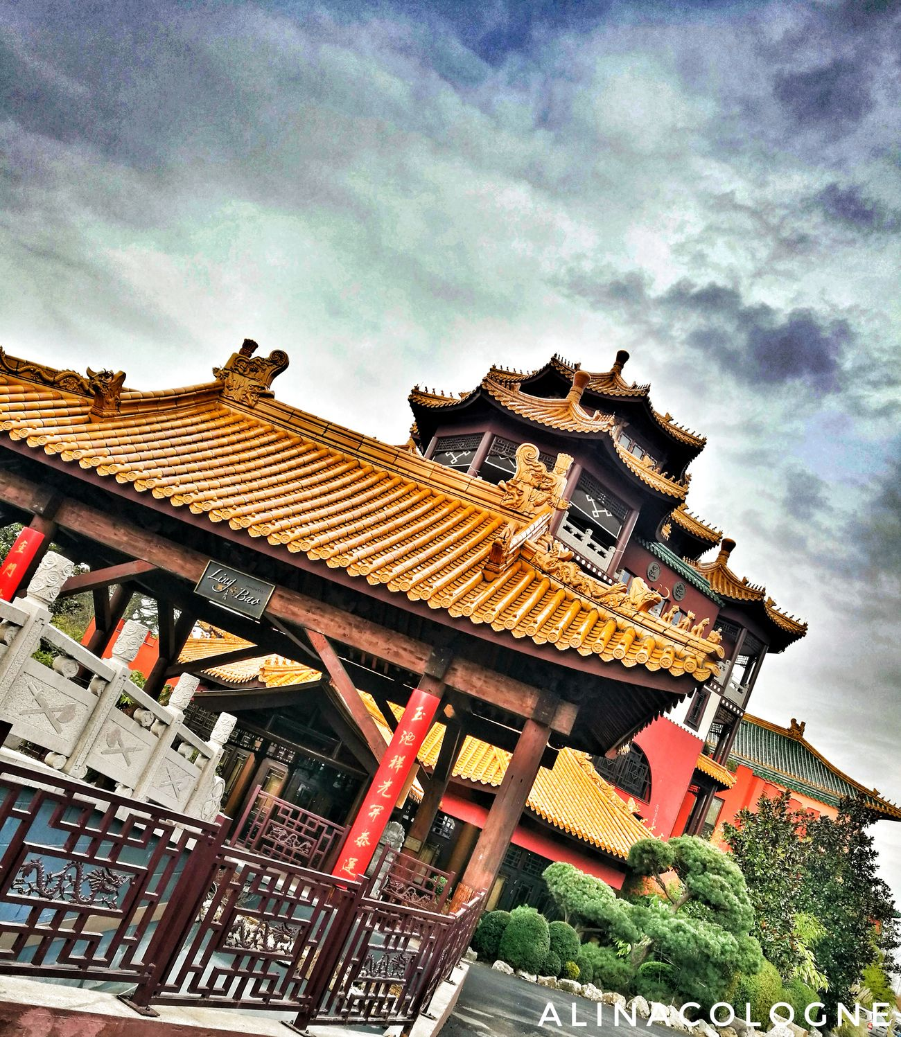 Hotel Ling Bao 🐉🎍💞 Sky No People Cloud - Sky Fotografie Phantasialand Photography ınstagram Love Happiness Phantasialand Brühl Freizeitpark Secondhome Köln, Germany Rollercoaster Skyporn Klugheim