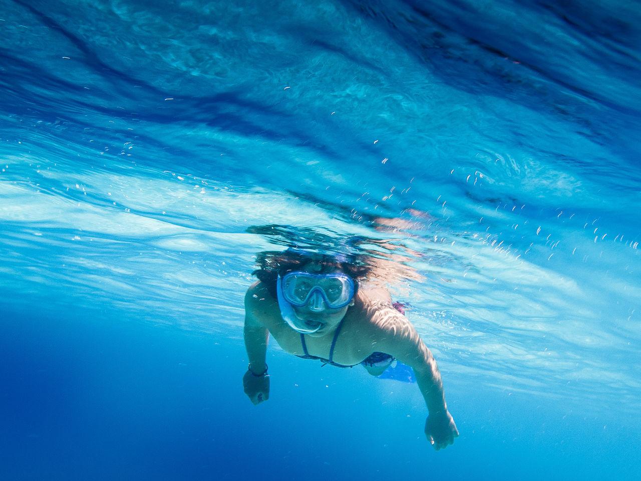 Snorkeling at Menorca