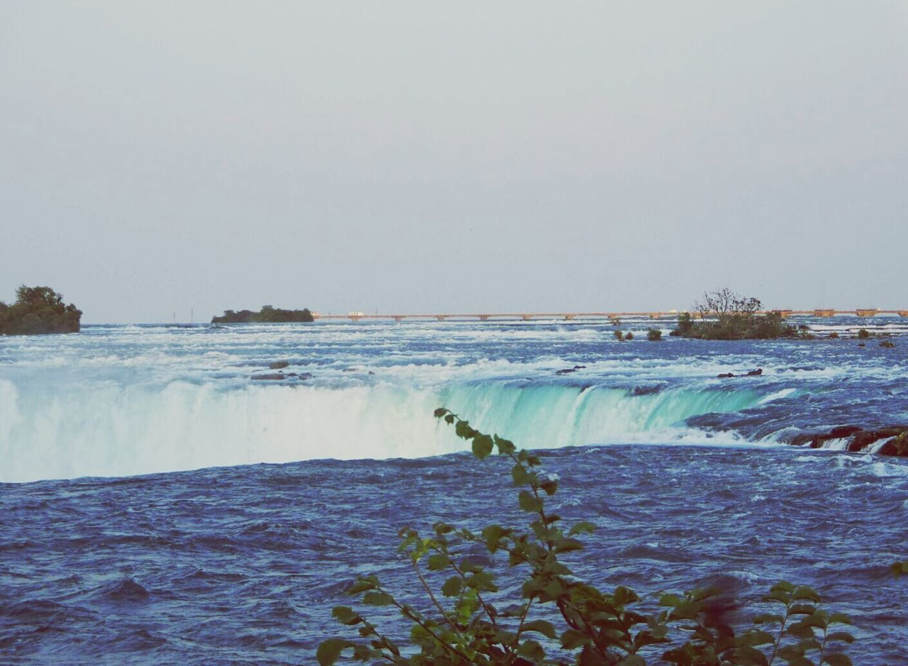 Beautiful stock photos of niagara falls, Beauty In Nature, Blurred Motion, Clear Sky, Copy Space