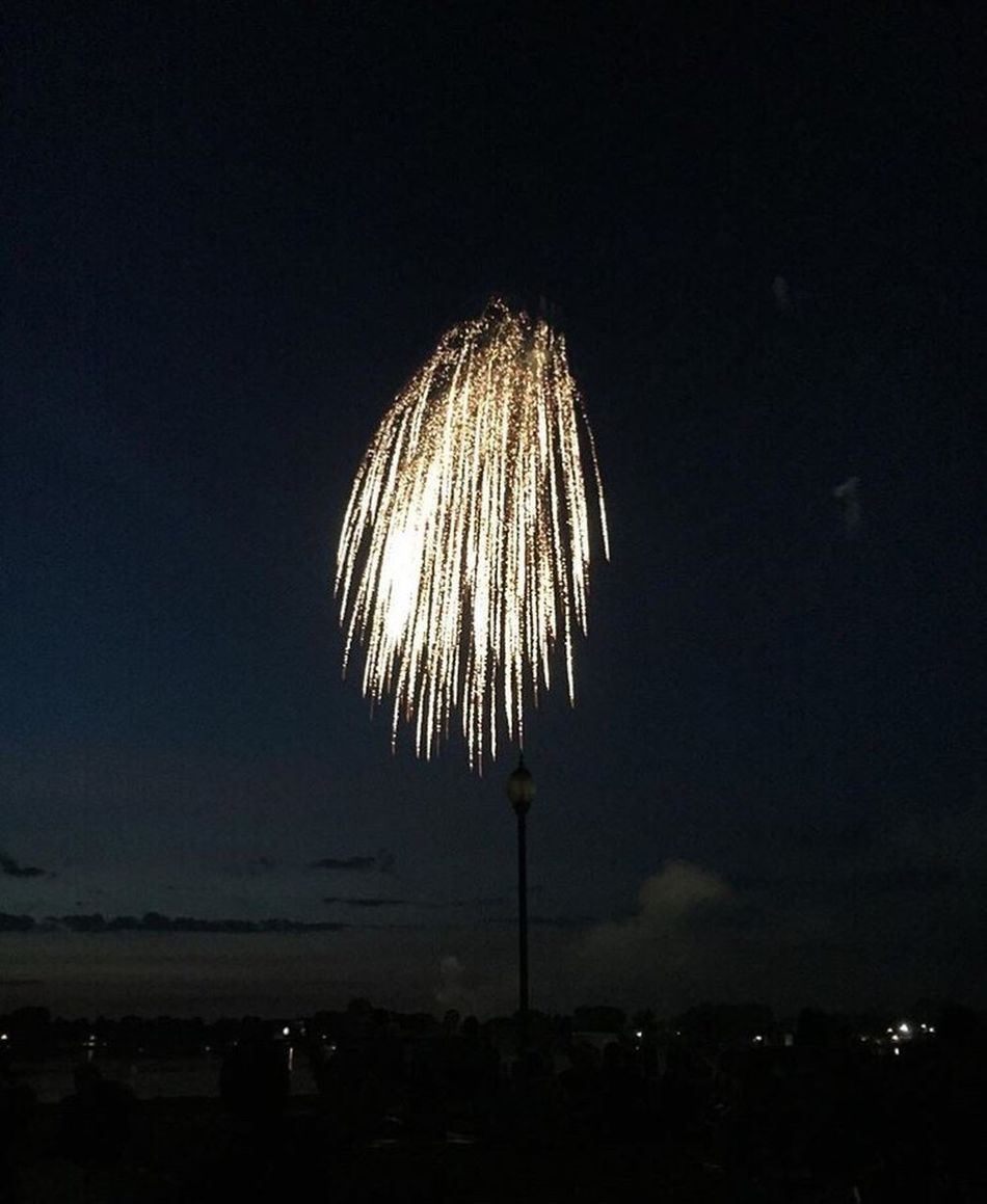 Fireworks on the Fourth Of July 💥 Nightphotography Detail