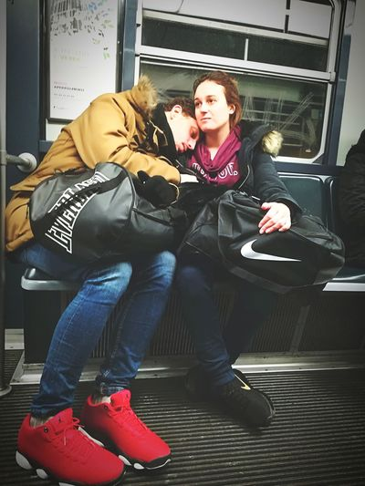 In side my world Love Power Hug Heterosexual Couple Young Adult Young Women Togetherness Couple - Relationship Full Length Casual Clothing Women Young Couple Friendship EyeEmNewHere