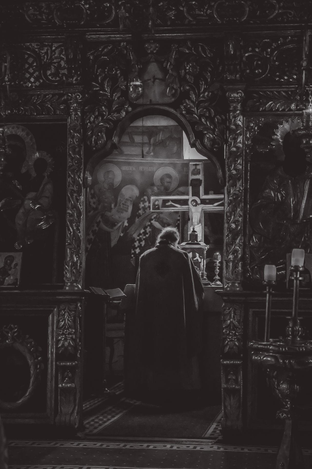 Afterlife Orthodox Church Prayer Faith God Orthodoxy Church Pray Light Liturgy Comunion Priest Fine Art