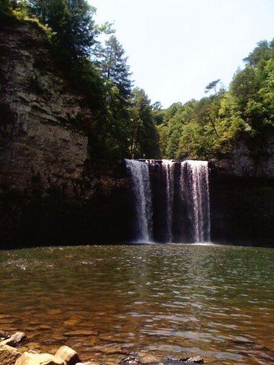 Fall Creek Falls Nature Waterfall Hikingadventures Tennessee