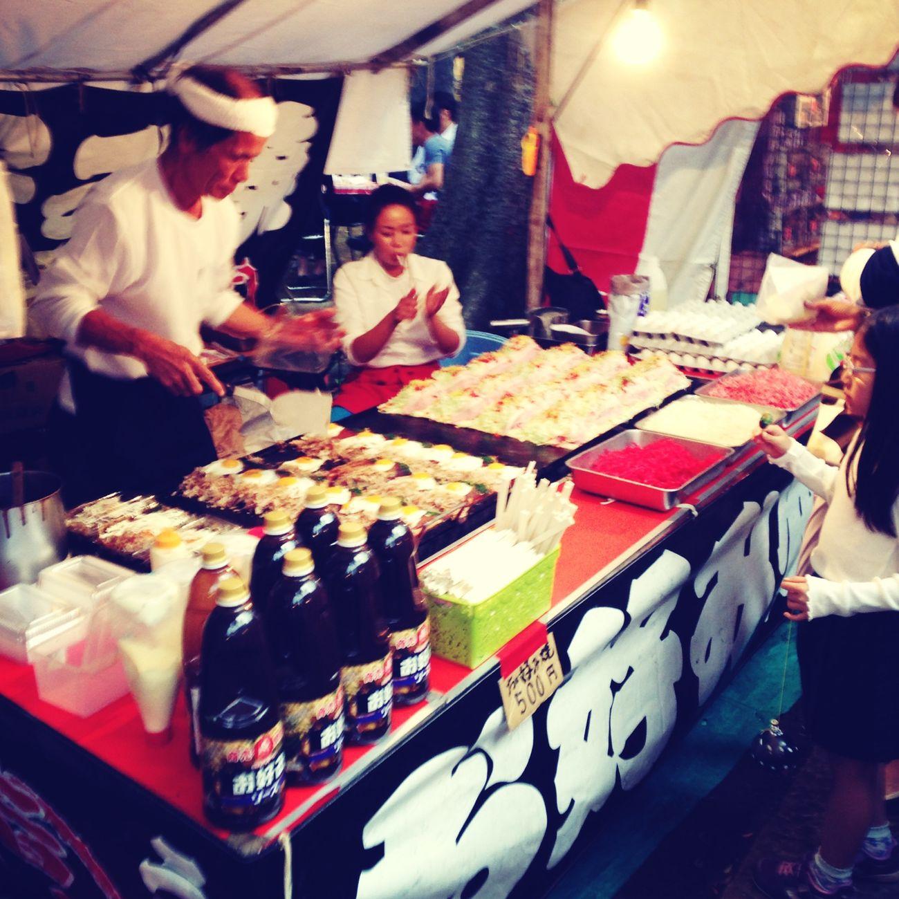 Okonomiyaki Omatsuri Stall
