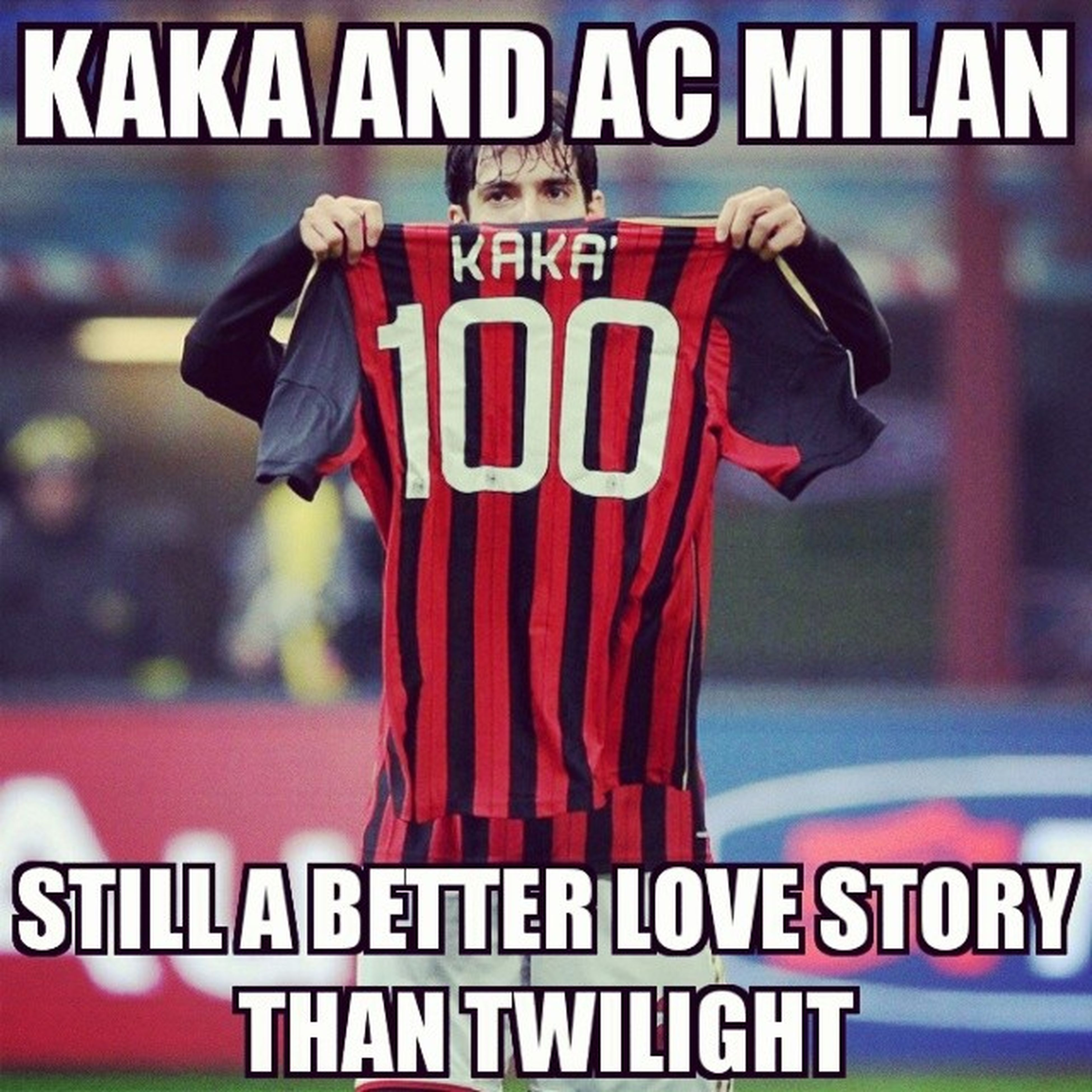 Milan will never forget your name. You will forever remain one of the best players in the history of the red and black and an absolute fans' favourite. Myfavourite Ourprince OurHero @kaka @acmilan