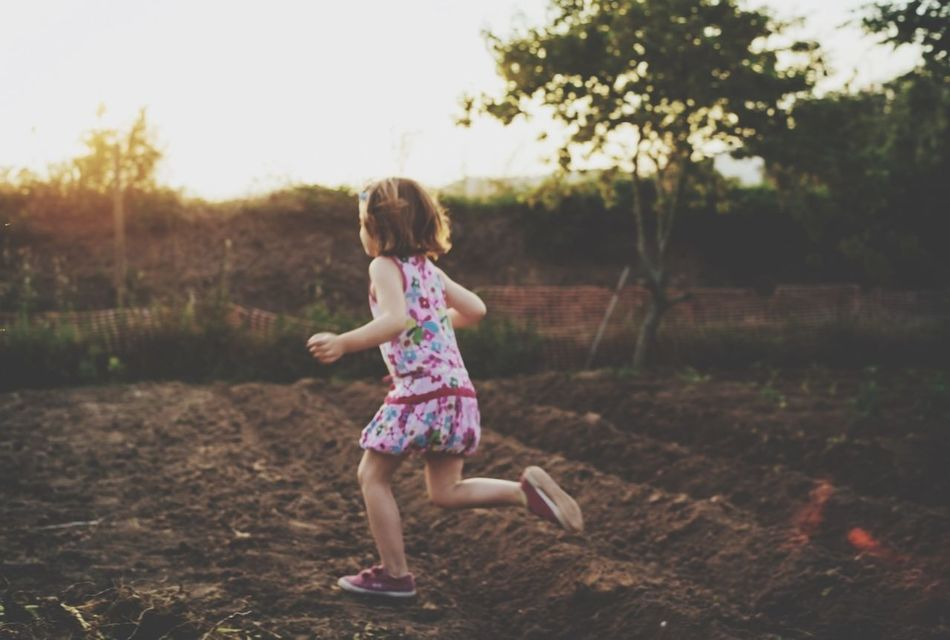 Beautiful stock photos of running, Childhood, Children, Clear Sky, Day