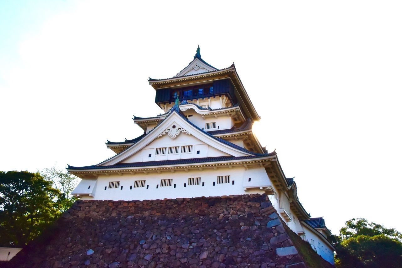 Castle Japanese Castle Architecture Japanese Architecture Kokura Catsle 小倉城 Japanese Culture Japanese Style Japan Photography お城 Nikon D7200 NIKKOR 18-300mm 逆光だったので思いっきりプラス補正したら空が真っ白になった😆💦