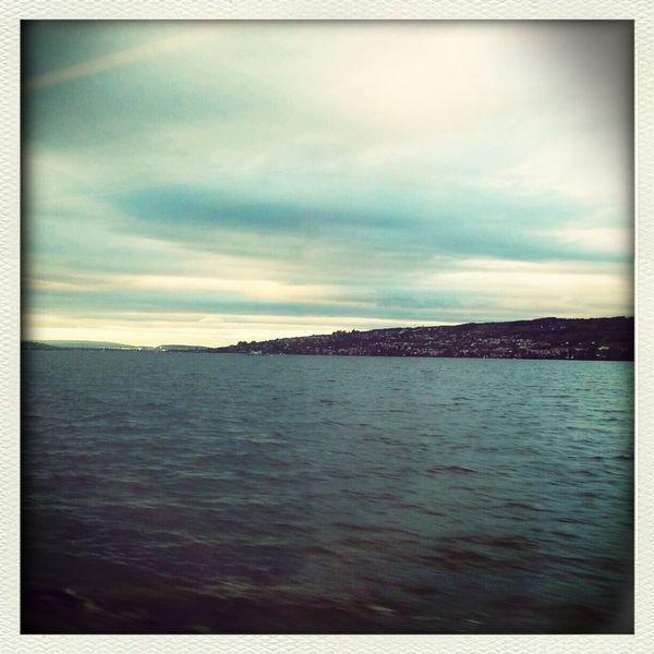 Lake Evening Journey Taking Photos