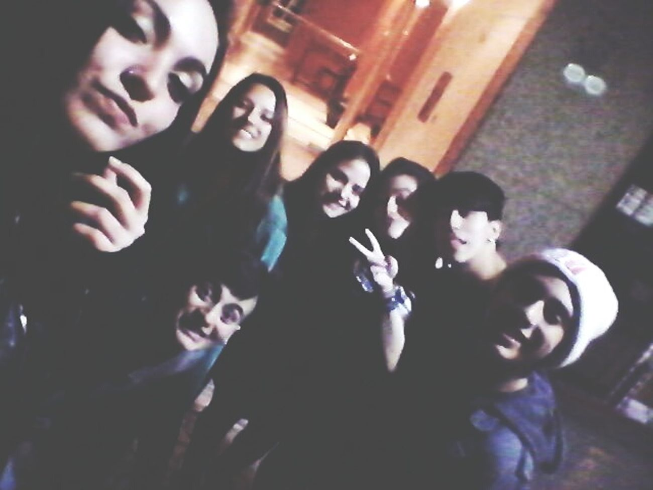 Que buena noche! Friends Night Drink And Weed Street
