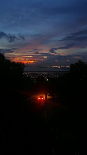 Hello New City. Bayview Sunset Beauty In The Darkness Darkness And Light Car In Motion Hello World Darkness Black Battle Of The Cities My Favorite Place
