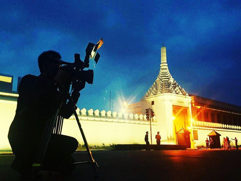 เฝ้ารับเสด็จ Grand Palace Bangkok Thailand Wat Phra Kaew Sanamluang Bangkok Phra Nakhon Krung Thep