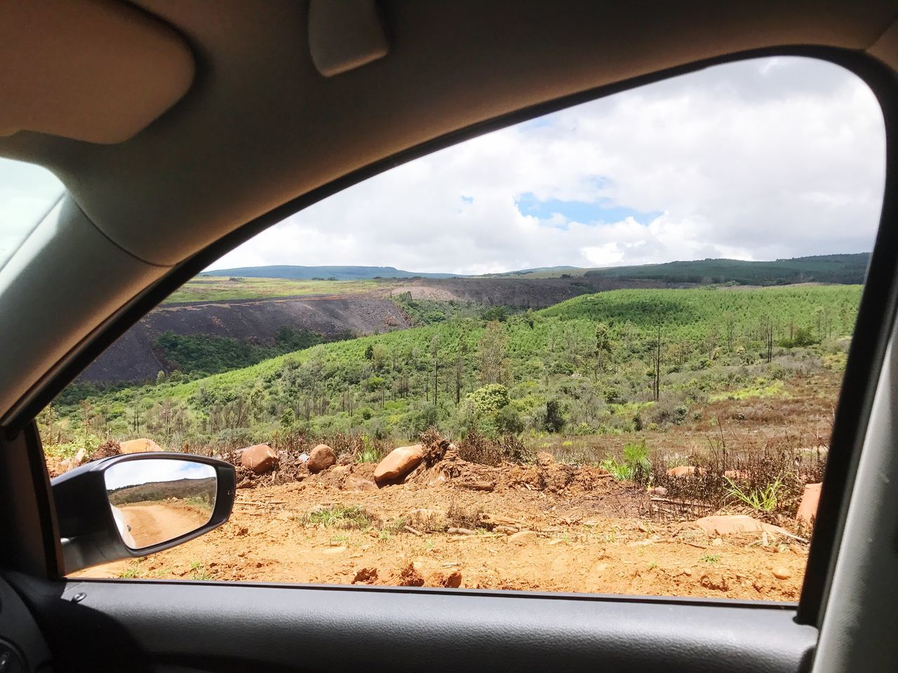 Landscape Car Nature Vehicle Interior Mountain Beauty In Nature Outdoors Roadtrip South Africa