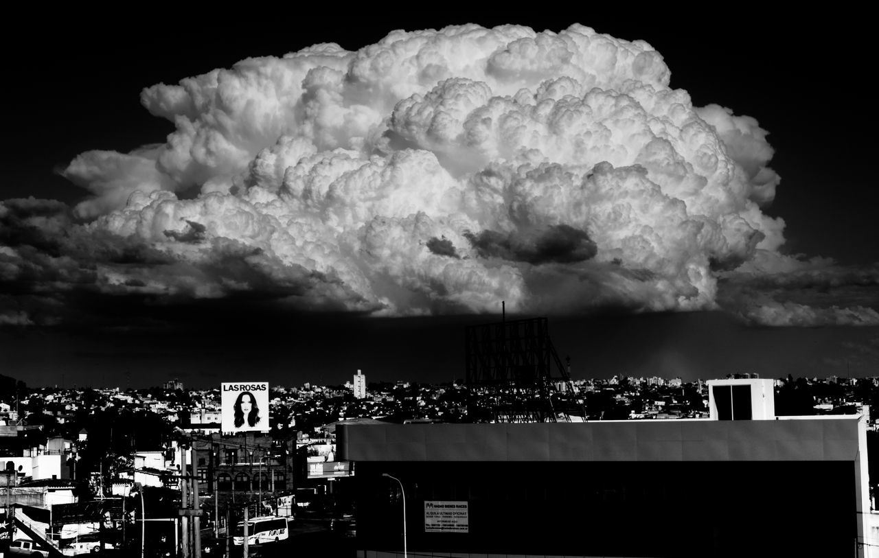Argentina Big Clouds Black And White Blackandwhite City Cityscape Cloud Cloud - Sky Clouds Clouds And Sky Cloudy Cloudy Cordobaargentina Córdoba No People Outdoors Overcast Sky Storm Weather