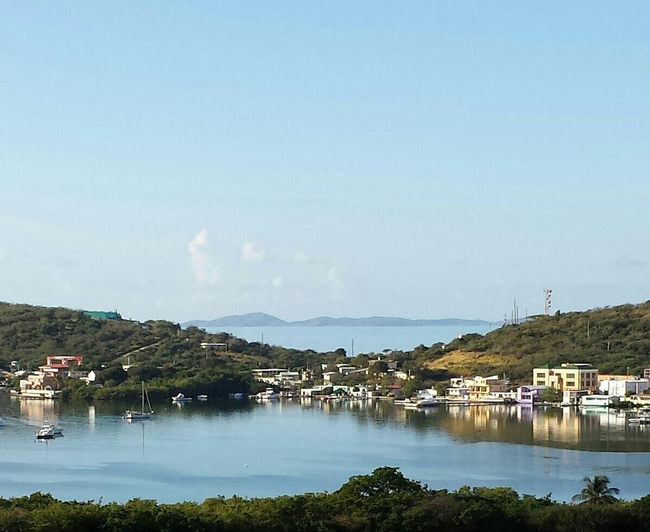 """the bay from my house... the storm seems to be over... is calm... the sun is shining... and now it can reflect the amazing things that it holds in it""... Island Island Life My Thoughts in Isla Culebra ,Puerto Rico"