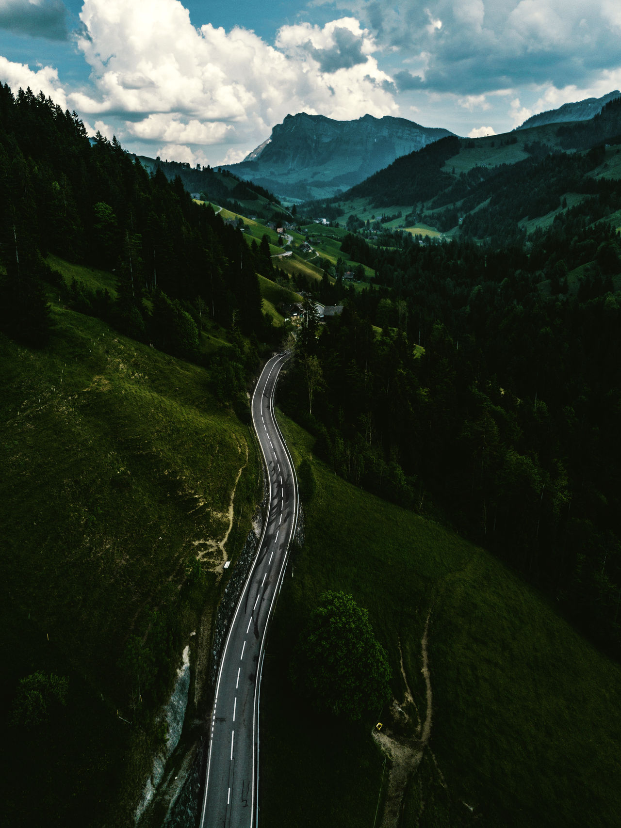 Landscape Mountain Mountain Road Nature Outdoors Road Scenics Tranquil Scene Winding Road
