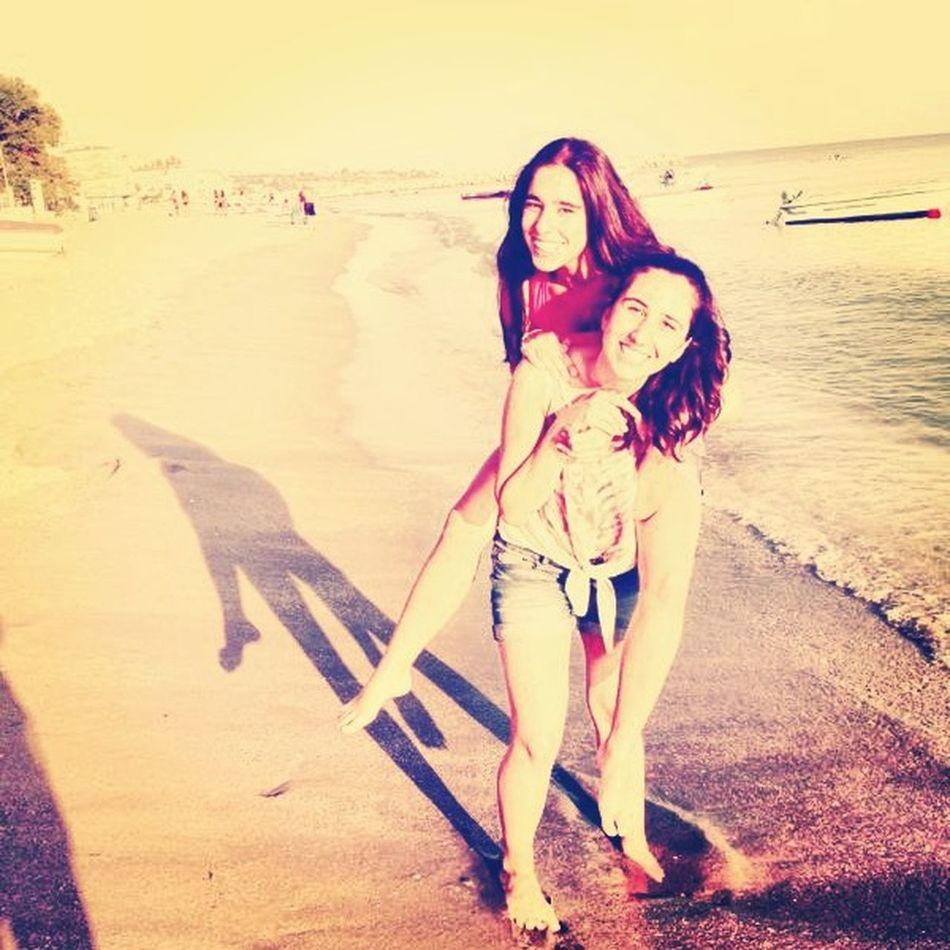 Me And My Bestfriend ❤ Lovelovelove Happy :) Good