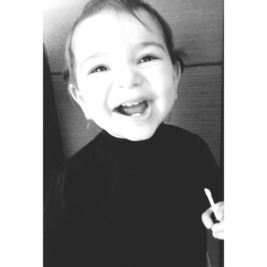 Baby Girl My Baby Cousin ❤ Theeth Smile ✌ #guncey