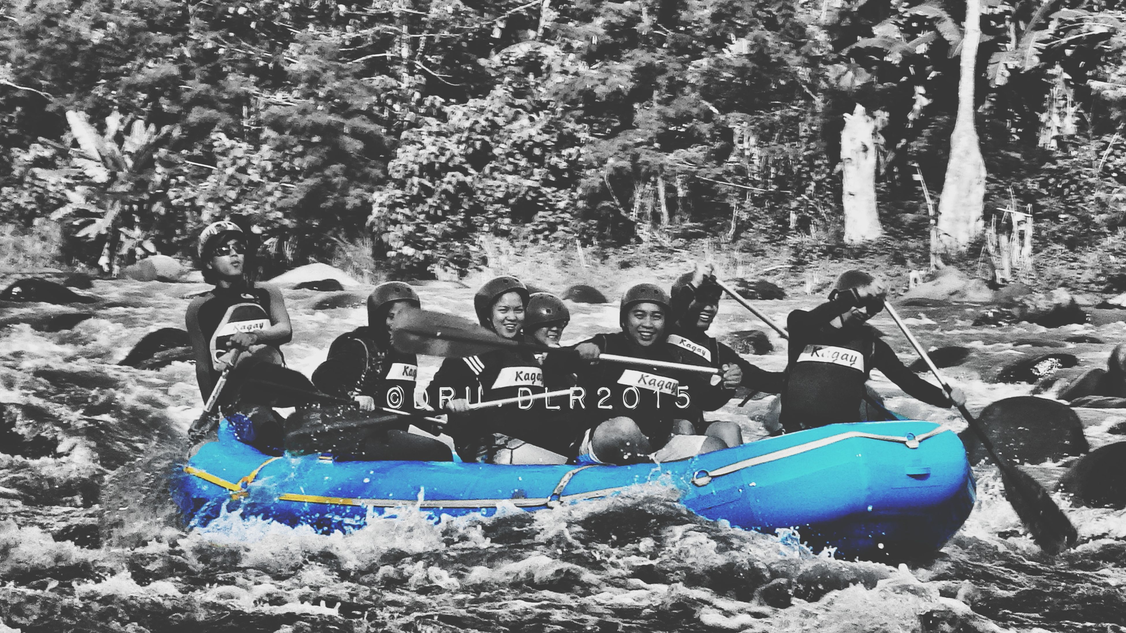 Water rafting @ Cagayan de Oro Phil, this was taken after the wedding day of our dearly beloved friend Cherry last february 2015. Otap, Tine, Cherry and Tim should be here!! Eyeem Philippines Life In Motion Water Adventure Reminiscing