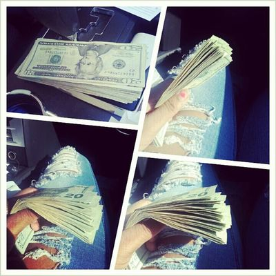 get money is all i know Small girl with a big payroll 