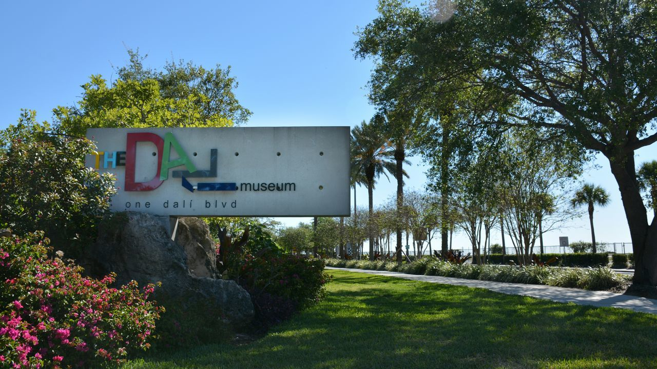 The Dali Museum in St Petersburg, Florida The Dali Museum Arts Culture And Entertainment Dali Museum St Petersburg, Florida Museum Sign Outdoors No People