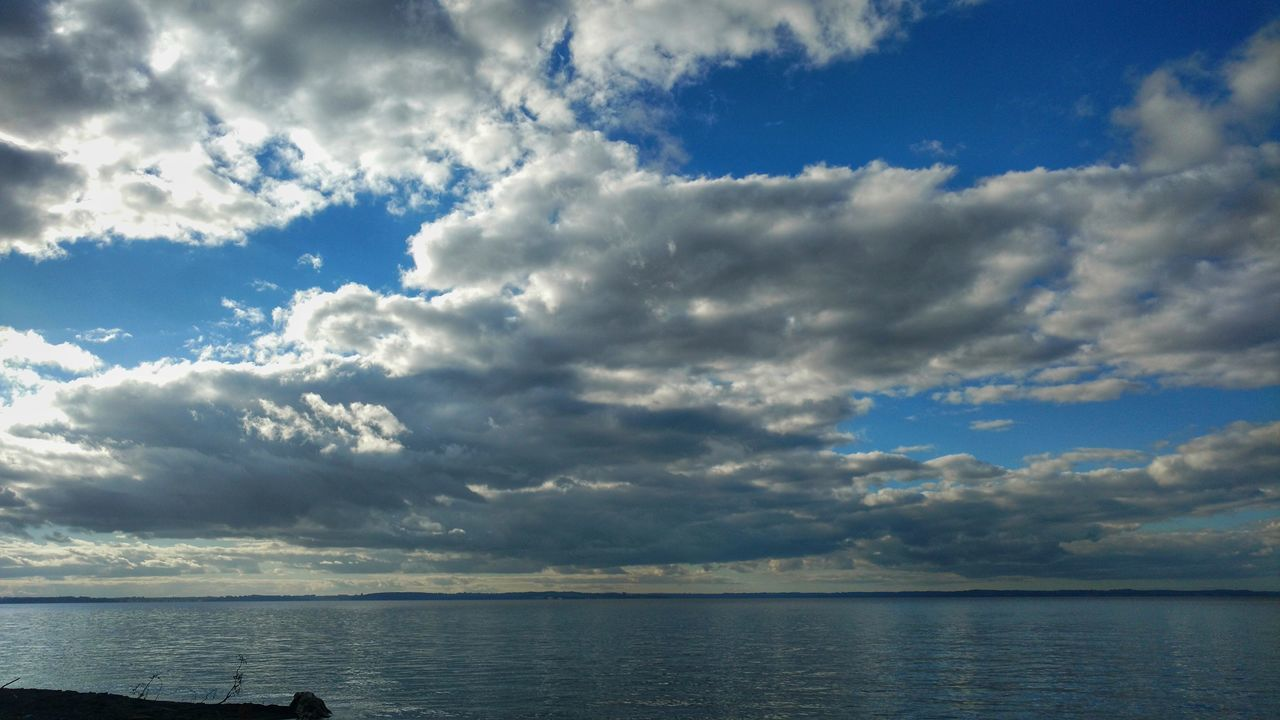 Chile Llanquihue Lake Cloudy Clouds Landscape CL Nature Water