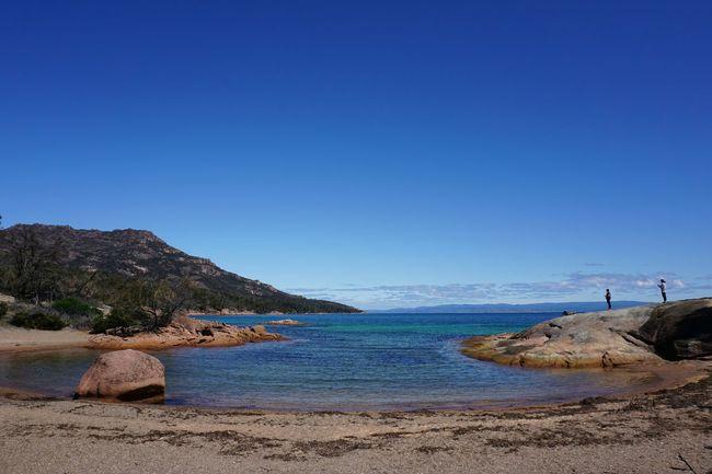 Sleepy Bay at Freycinet National Park ... Blue Sky Tasmania Australia Landscape_photography Travel Photography Amazing Blueskies Water