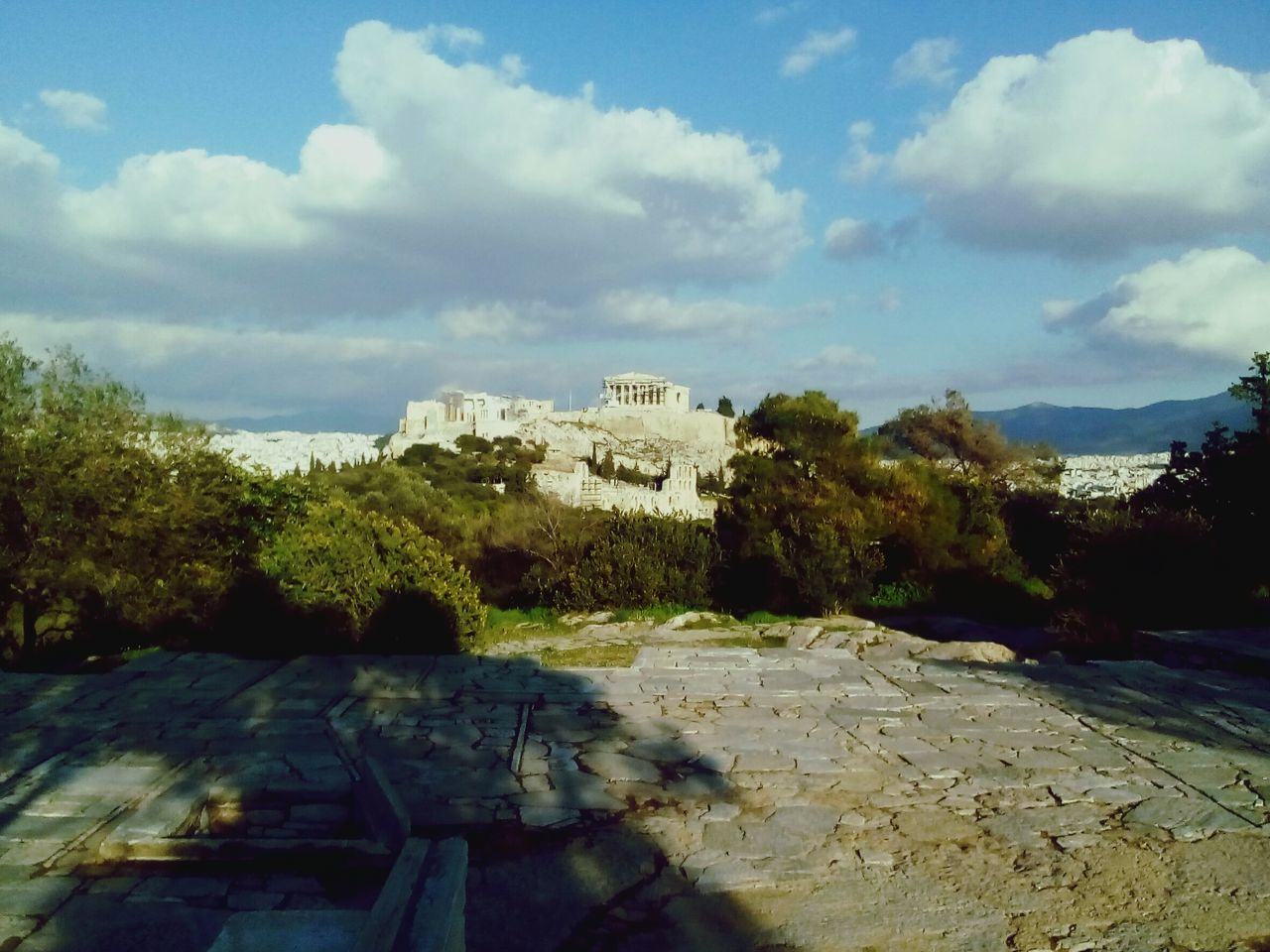 Hanging Out Taking Photos Check This Out Relaxing Enjoying Life Check This Out Athens, Greece EyeEm Best Shots Sky And Clouds Acropolis, Athens View From The Top Filopapou Sky_collection Architecture_collection