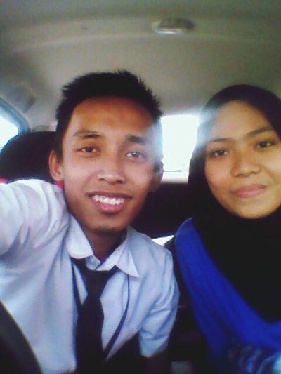 With my dear