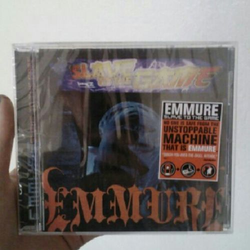 I got my baby the CD he wanted <3 SlaveToTheGame Emmure