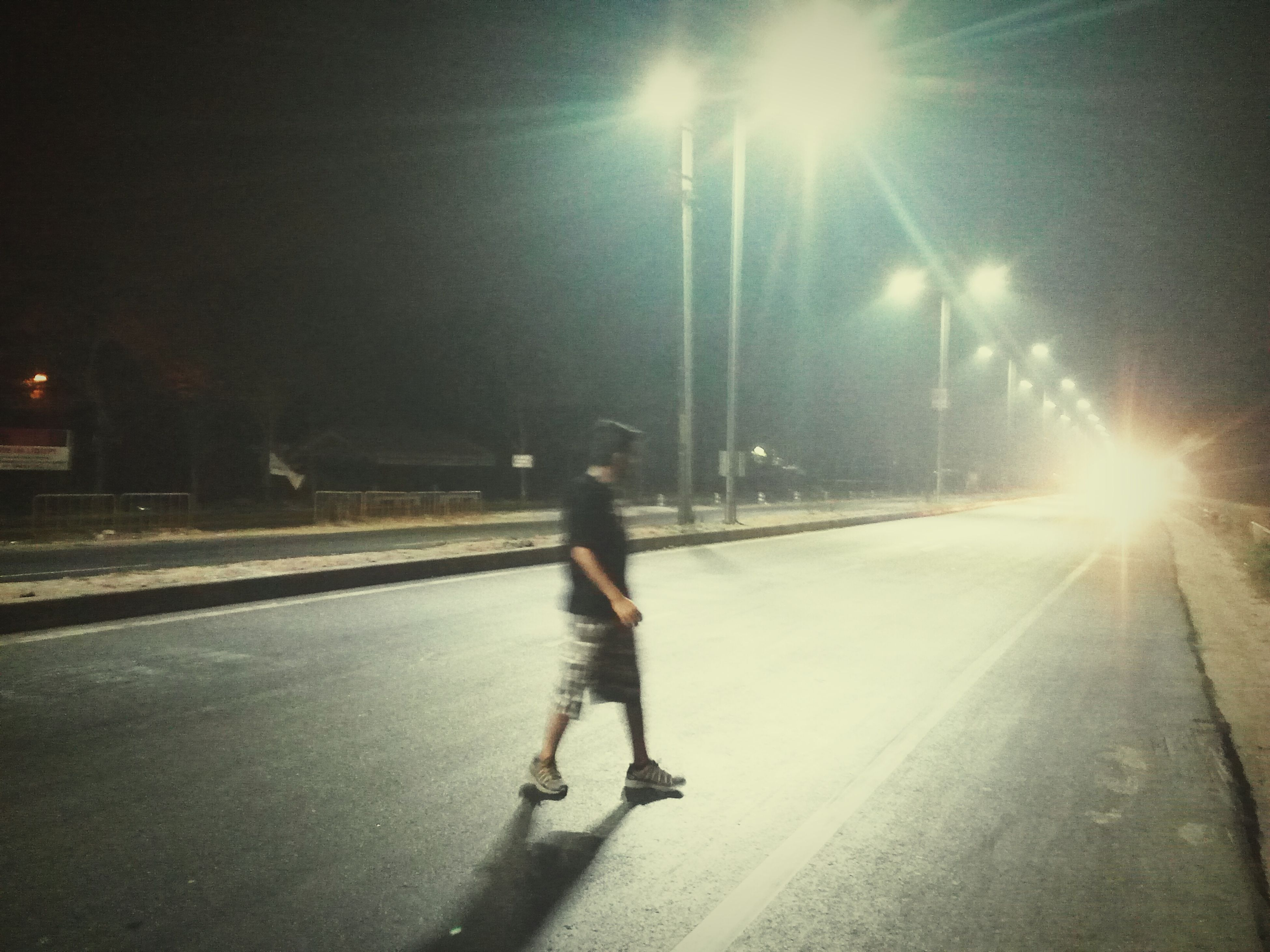 Highway poses Highway Noob Photography Candid Badassery! Blurred Motion Blurry Perfection Street Lights