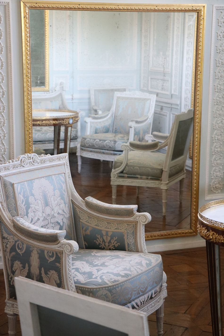 Absence Antique Armchair Chair Day France Home Interior Indoors  No People Old-fashioned Petit Trianon Seat Versailles