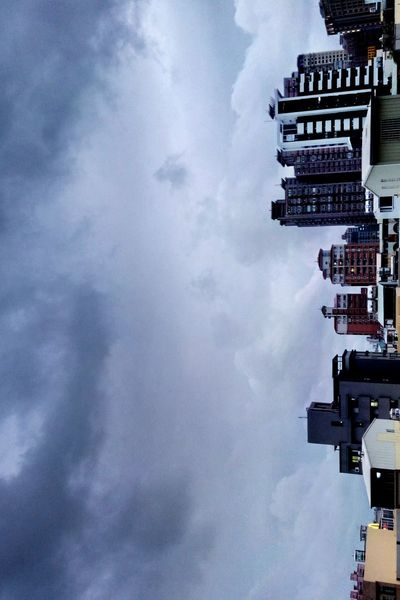 City Sky Cityscape Architecture Cloudy Clouds Building Urban Scene Buildings Wind Structure