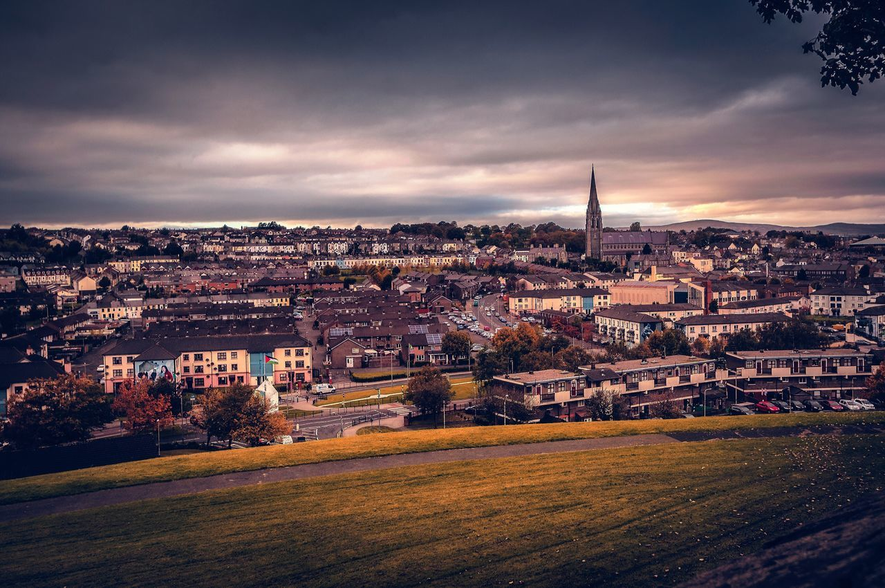 My Year My View Architecture Building Exterior Cityscape Cloud - Sky Travel Destinations Derrylondonderry Ireland First Eyeem Photo Nikonphotography