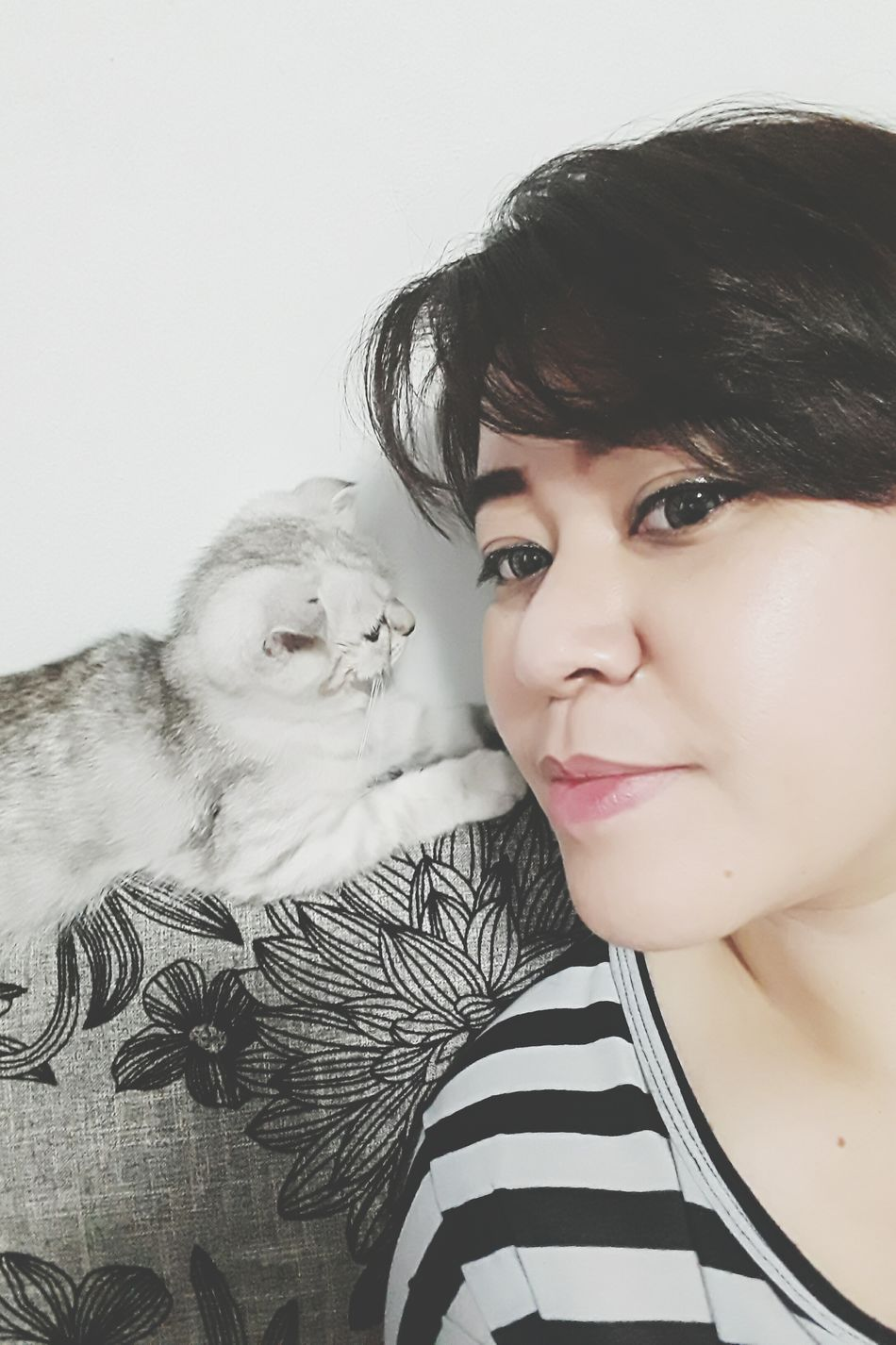 first selfie together~ Cat Lovers Cats Of EyeEm Kittens Of Eyeem Kittens Kitten Cat♡ Selfie Portrait Selfie ✌ Self Portrait Self Portrait Around The World Selfies Its Me Selfportrait Self Potrait Cats Kittenoftheday Selfie✌