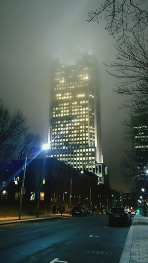 The 1000 under fog