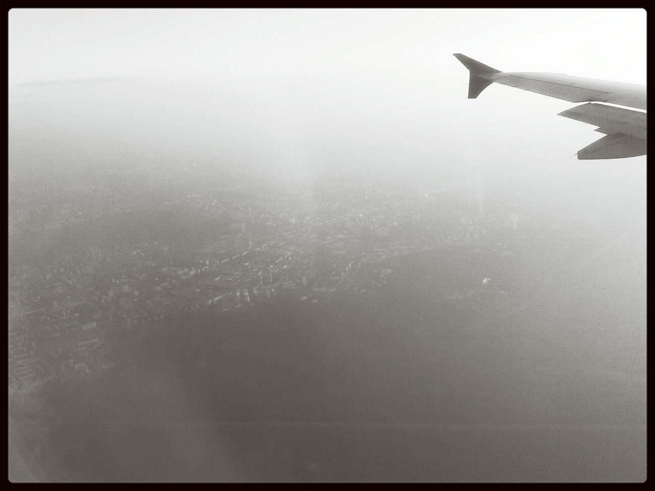 Подлетаем к Москве Самолёты