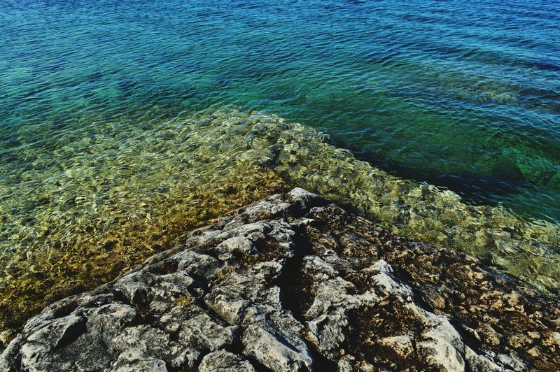 Tobermory Rocks And Water Blue Water Clear Water Green Blue Water Abstract Summer Summer Vibes Rocks Abstract Photography Crystal Clear Water