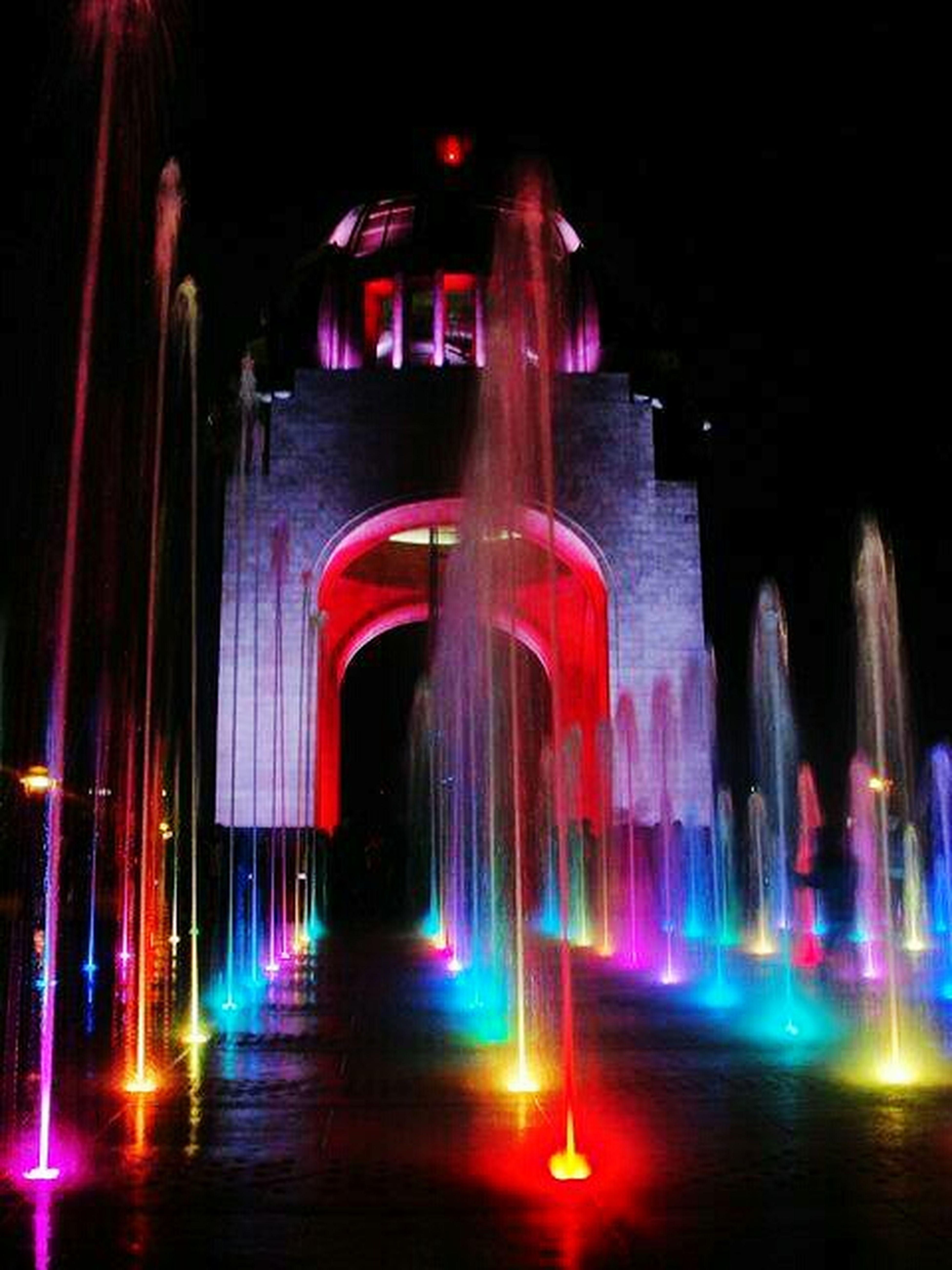 Mexico Revution Food♡ Architecture Illuminated Night