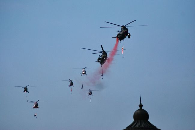 Smoke♥ Sky Holiday Society Helicopter 🚁 Helicopters Military Malaysia Anniversary Flag Celebration Skyblue Helicopter Smoke Showcase July Festival Season