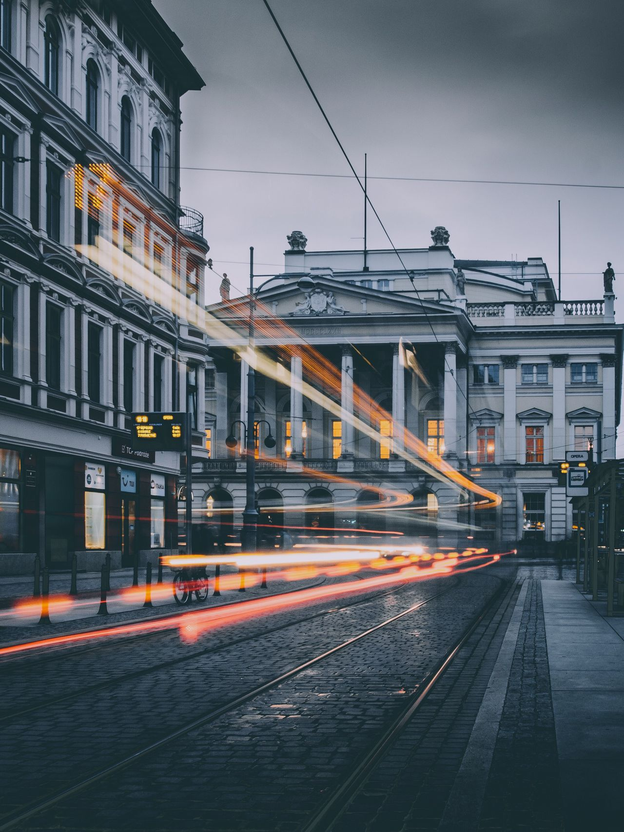 capturing motion Building Exterior Street Built Structure Transportation Architecture City Illuminated Street Light Long Exposure Motion Speed Outdoors Night Road Light Trail No People Sky Embrace Urban Life