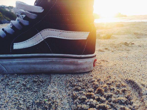 Summer shoes Vansoffthewall