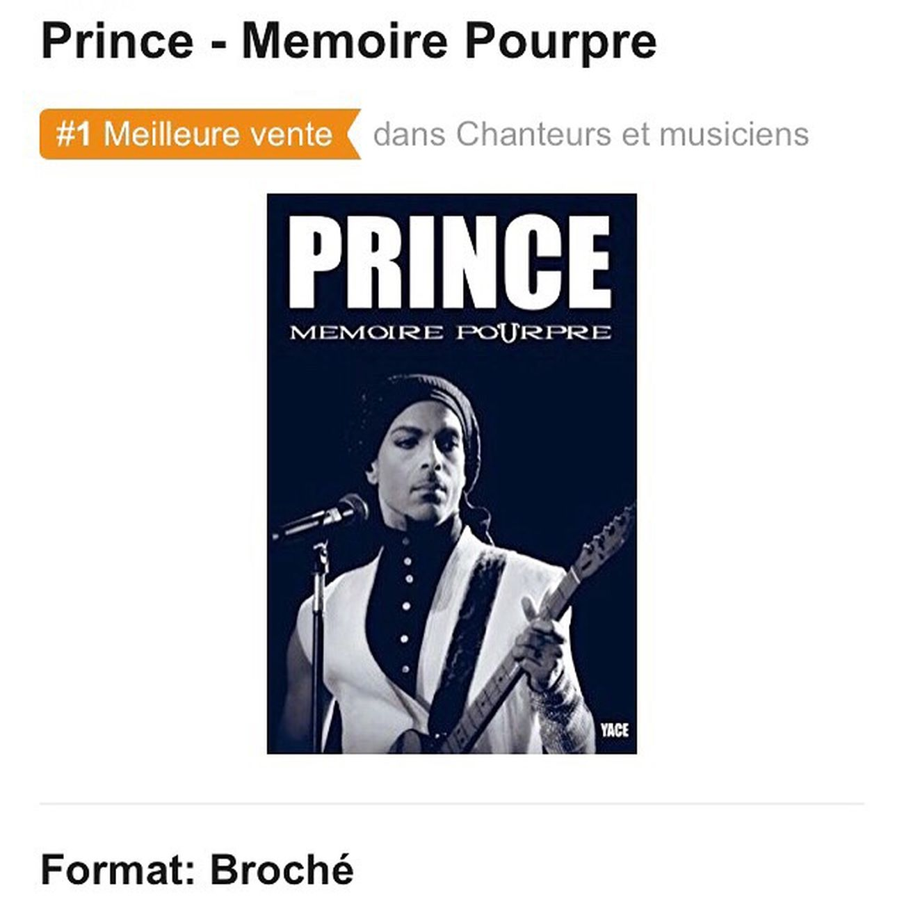 "I supplied the photos for this new Prince book - all self financed fan book by Yace. Avaible now in french at Amazon.fr - an english version will be ready in April 2017. Purple memories….Of those we keep more preciously than ever since Prince's tragic death on April 21st 2016. A true fan narrative.This is Yace's account, from age 14 and the original shock of Purple Rain in 1984 to the discovery of the hundreds of amazing songs produced by the Master of Minneapolis and the invaluable privilege of seeing the Artist 45 times on stage between 1988 and 2014. The story of these special moments, either personal or shared with others, confronting and experiencing Prince's work and creative power. This book evokes the immersion of the author in purple music which seems to become one with its creator, as an invisible bridge from Minneapolis to our distant teenage bedrooms, the story of our transcendences as fans, our questionning, or disappointments sometimes too. It recalls the projection of our musical fantasies, with the record sleeve in our hands attempting to decrypt Prince's DNA in a maelstrom of funky and random synaptic transmissions. Mémoire Pourpre is neither a biography, nor the book of an exegete or a Prince history one, but rather a passionate and musical account to witness the gift, the grace and the genius Prince shared with us his entire life. Featuring Jill Jones and Morris Hayes , Prince's long time collaborators and top rank musicians. This book also presents exclusive photos of Prince by Sten Knudoft, a Danish photographer and fan from the very beginning . Text from Amazon.fr : ""Fans / writers are not to be outdone with - Purple Memory, a narrative available on Amazon on January 7 written by Yace with the participation of Jill Jones, Morris Hayes and photographer Sten Knudtoft."" https://www.amazon.fr/Prince-Memoire-Pourpre-Yace/dp/1540498956/ref=sr_1_1?s=books&ie=UTF8&qid=148336993 Prince  Blackandwhite Blackandwhite Photography Concert Musician Music Arts Culture And Entertainment Npg Denmark France Concert Photography Funky Stage - Performance Space Books"