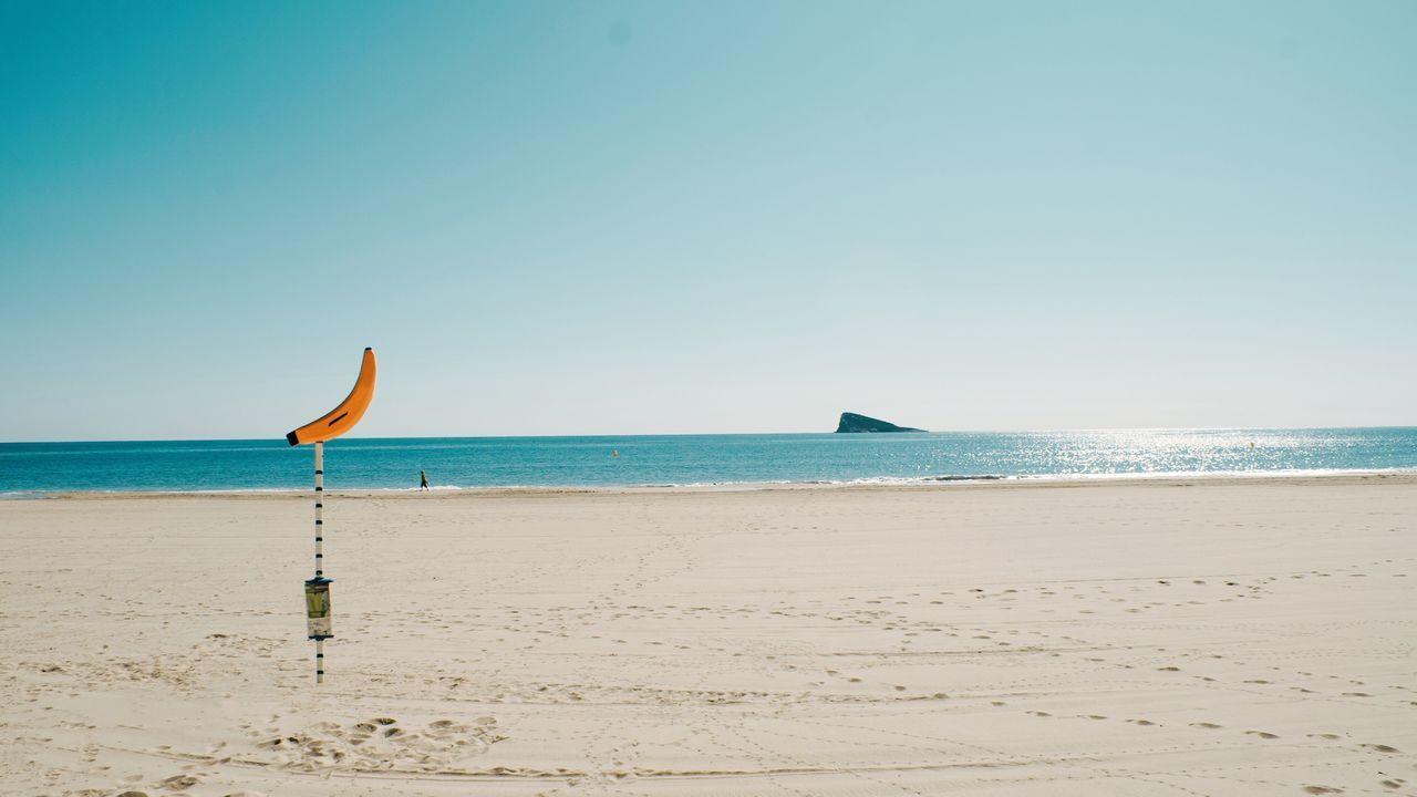 Beautiful stock photos of banana, Banana, Beach, Beauty In Nature, Clear Sky