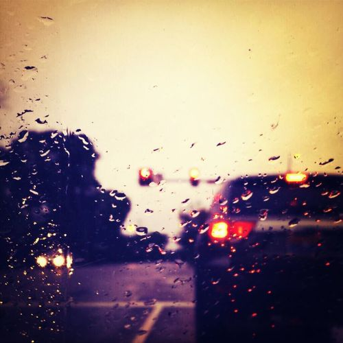 Rain and driving are a bad combination in DC.