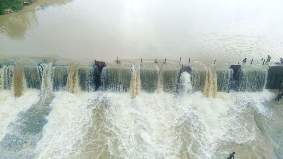 Water Outdoors Nature Beauty In Nature People Men Dam river Jabalpur ,India Stopdam